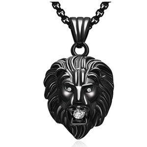 Leo Diamond Pendant Chain